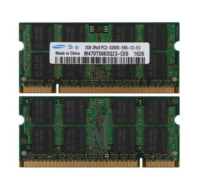 New 2007 4GB 2x2GB Apple iMac Memory PC2-5300