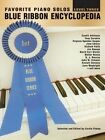 Blue Ribbon Encyclopedia Favorite Piano Solos: Level 3 by Alfred Music (Paperback / softback, 1997)