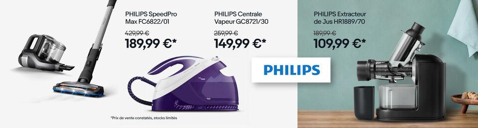 J'en profite - Philips : jusqu'à -50 %