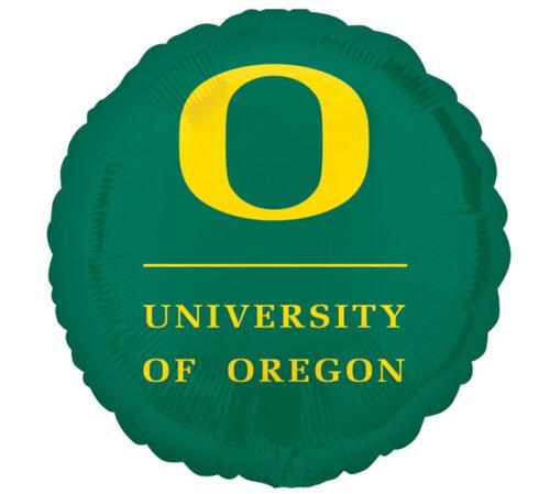"College Balloons 18/"" Oregon Ducks Balloon Round"