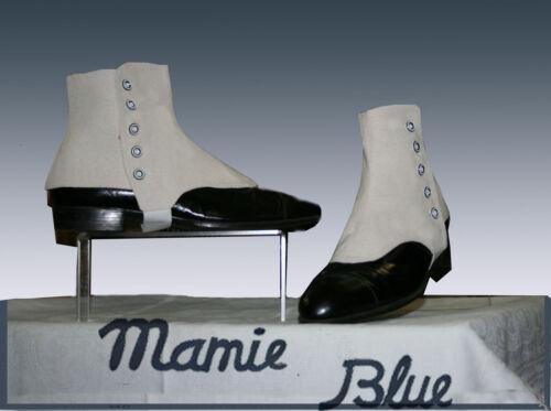 Guêtres courtes HOMME  RETRO GATSBY CHIC  GAITERS shoes ECRU Cream Vintage T2XL