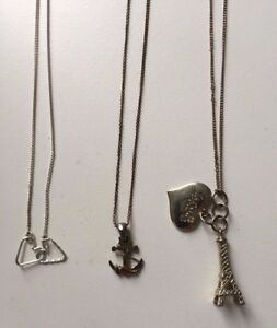 Beautiful Accessorize Ladies Necklace Bundle  Hearts Eiffel Tower and Anchor - Lewes, United Kingdom - Beautiful Accessorize Ladies Necklace Bundle  Hearts Eiffel Tower and Anchor - Lewes, United Kingdom