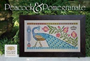 Peacock-amp-Pomegranate-Cottage-Garden-Samplings-New-Chart