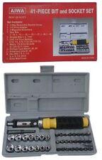 Super Quality AIWA 41- Pieces Bit and Socket Set Tool Kit Screw Driver Set