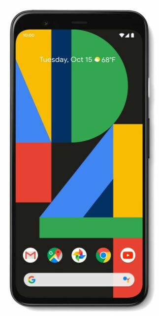 Google Pixel 4 G020I - 64GB - Just Black (Unlocked) (Single SIM) A Stock