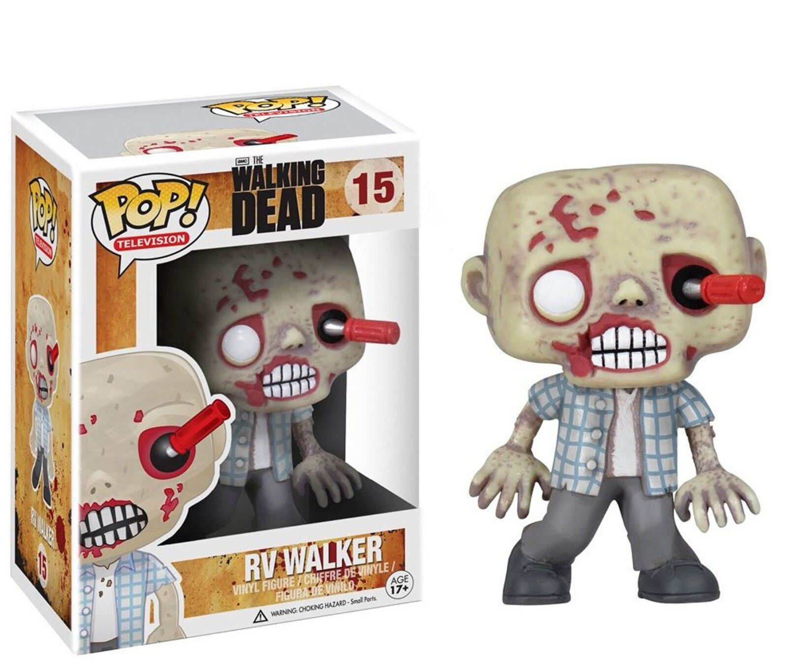 FUNKO POP - WALKING DEAD - RV WALKER - VINYL FIGURE RETIROT  15 VAULTED