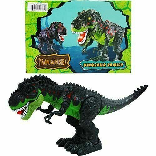 Triceraptos Dinosaur Toy Walking Sound And Light Dinosaur Family