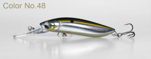 Hard Body Lure For Bass Bream Perch Trout etc Lurefans A5 Jerk Bait Lures 50mm