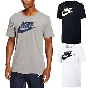 Nike-Mens-Icon-Futura-Gym-Sports-Cotton-Tee-T-Shirt-Top-Swoosh-Size-S-M-L-XL