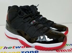 a7c0f711482 Nike Air Jordan 11 Retro Black Red sz 12 XI space jam iii iv 72-10 ...