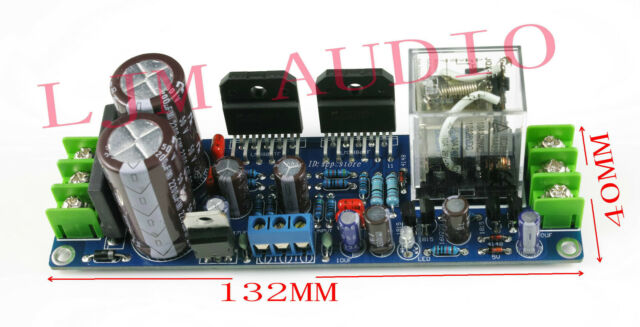 Assembled GC LM3886TF Power amplifier board with Speaker protection CL189