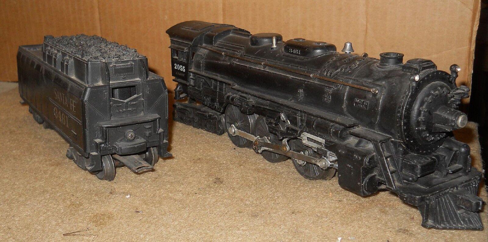 O Gauge: Lionel 2055 Steam Loco 6026 whistle tender 1953-55