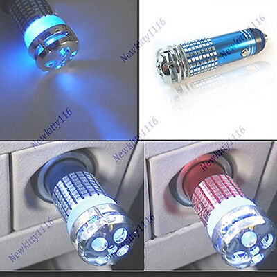 12v 8cm Mini Auto Car Fresh Air Purifier Oxygen Bar Ionizer 3mg/h
