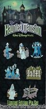 Disney Pin Trading Set: WDW The Haunted Mansion Collector Set (7 LE 500 Pins)