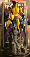 "Wolverine 11"" Full Size Yellow Version Bowen Statue by Mark Newman Complete!"