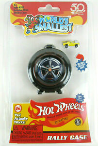 Mattel-Hot-Wheels-RALLY-CASE-1-Exclusive-Car-Worlds-Smallest-Holds-6
