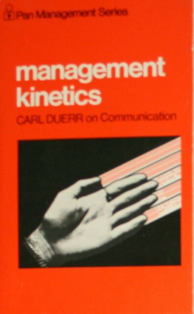 Management Kinetics (Management & Marketing), Duerr, Carl, Very Good Book