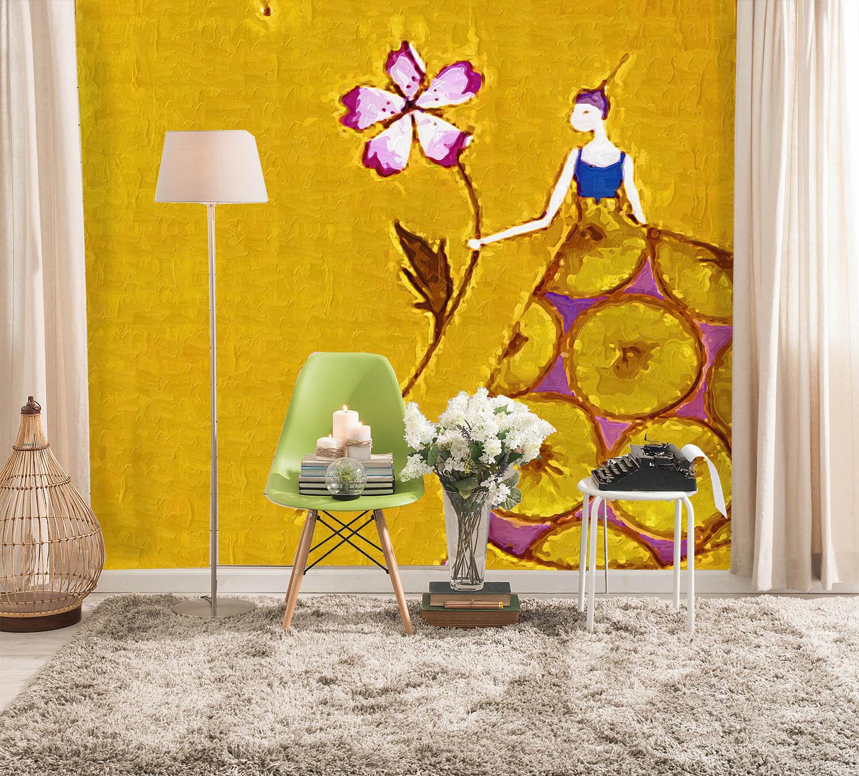 3D Mode Mädchen Abbildung 86 Tapete Wandgemälde Tapete Tapeten Bild Familie DE