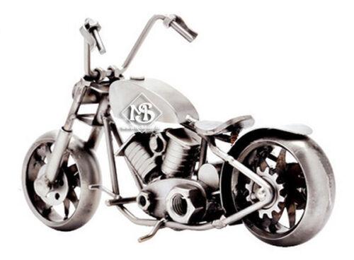 Hinz/&Kunst Design,Motorrad BOBBER-Bike,Schraubenkollektion,handmade,aus Stahl