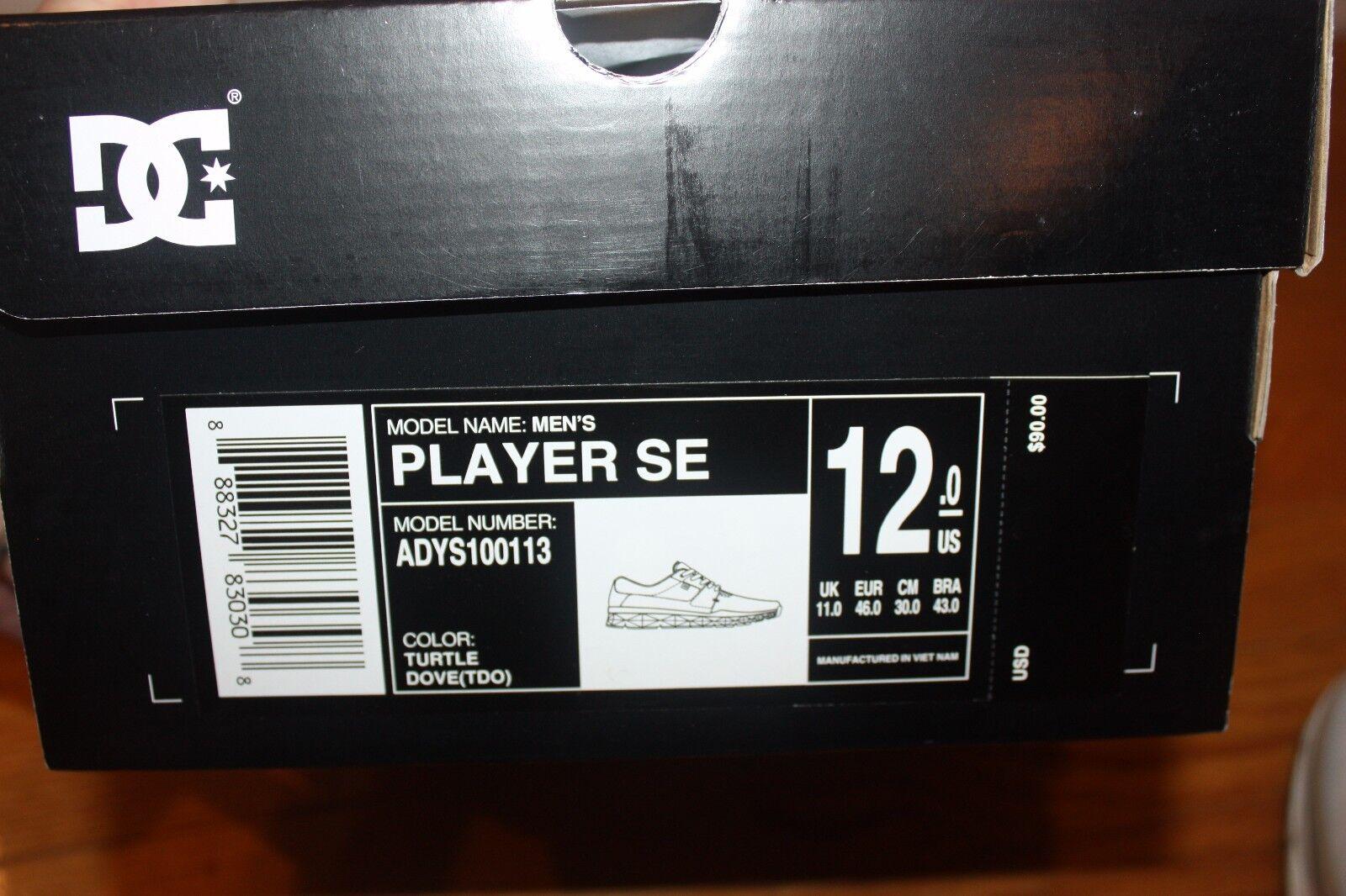Nuevo En Caja Para hombre Zapatillas Zapatos de de Zapatos Skate DC jugador se nos Envío Gratuito Rápido 94772c