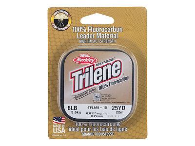 Berkley Trilene Fluorocarbon Leader - 25m / 100% fluorocarbon line