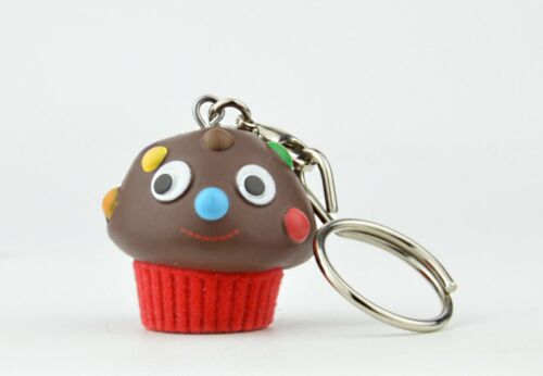 Kidrobot Yummy World Fresh Friends Key Chain Chocolate Cupcake