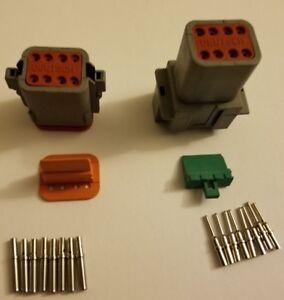 Deutsch-DT-8-Pin-Connector-Kit-16-18-20-gauge-Solid-Contacts