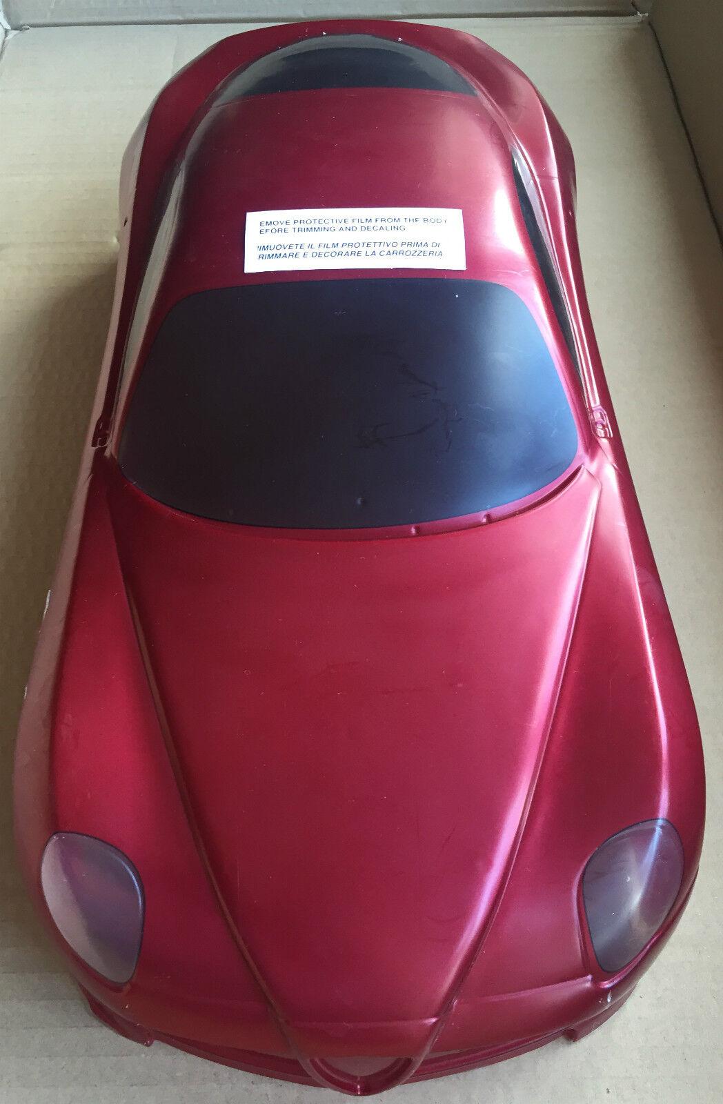 The Rally Legends EZQR8100 Alfa Romeo 8C Competizione 1 10 Pre Painted Body NEW