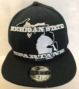 Image is loading New-Era-Michigan-State-Spartans-Green-Transfade-9FIFTY- 656b6701f049