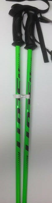 NEW 2017 SCOTT 540 JUNIOR JR. SKI POLES GREEN SIZE 38  95 CM