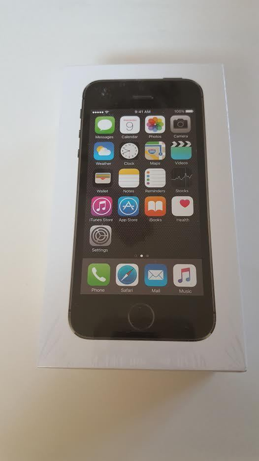 new sealed unlocked tmobile att apple iphone 5s 32gb me435bz a a1457 space gray. Black Bedroom Furniture Sets. Home Design Ideas