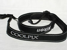 """one NIKON COOLPIX CAMERA NECK STRAP  (ends are 5/16"""" wide) #00041"""