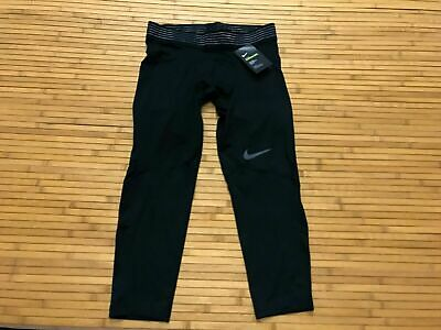 AT3645-010 Nike Men/'s Pro Hypercool 3//4 Black Training Tights