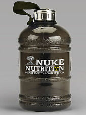 LARGE RUNNING WATER BOTTLE PROTEIN SHAKER FOR THE GYM - 1.8L / HALF GALLON