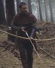 Russell crowe + + autógrafo + + gladiador + + Robin Hood + + 72 horas