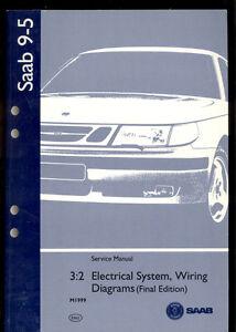 M1999 SAAB 9-5 ELECTRICAL SYSTEM / WIRING DIAGRAM ...