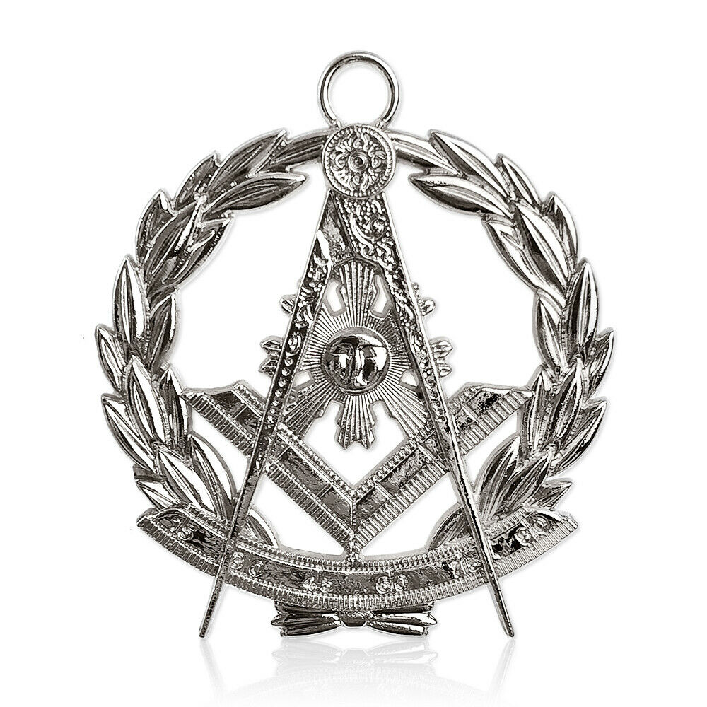 Past Master Silver Jewel Masonic Collar Regalia