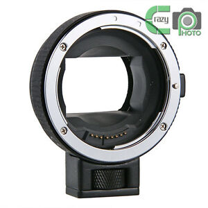 EF-NEX Auto Focus Adapter for Canon EF EF-S Lens to Sony NEX 3 5R A7 A7R VG900