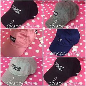 Victoria S Secret Pink Baseball Hat Cap Winter Wool