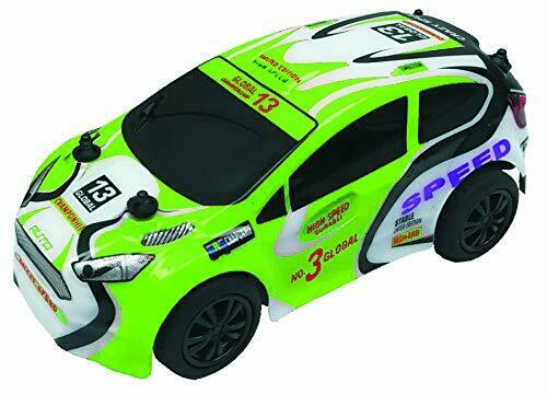 PSL 27 MHz R   C Extreme Rally Car Green Electric Radio Control RC car