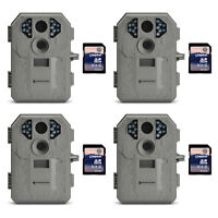 Stealth Cam P12 6mp Scouting Game Trail Camera, 4 Pack + 8gb Sd Card, 4 Pack on sale