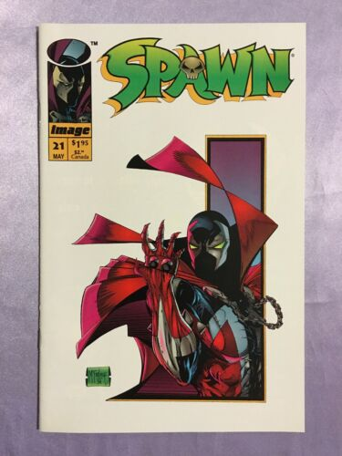 SPAWN #21~VERY LOW PRINT RUN~TODD MCFARLANE STORY AND ART~1994~