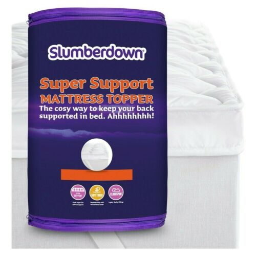 Double Slumberdown Support 4CM Mattress Topper