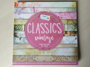 Designblock-Classics-vintage-Motivpapier-15-x-15-cm-6-x-6-inc-50-Blatt