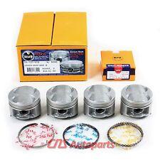 HONDA B16A2 B16A3 DOHC V-Tec 1.6L CIVIC Si DEL SOL Engine Pistons w/ Rings Kit
