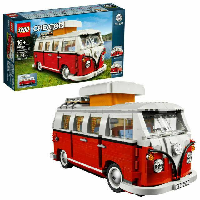 Volkswagen VW LEGO T1 Bulli Campingbus 10220 Creator Camper 211099320 BL9
