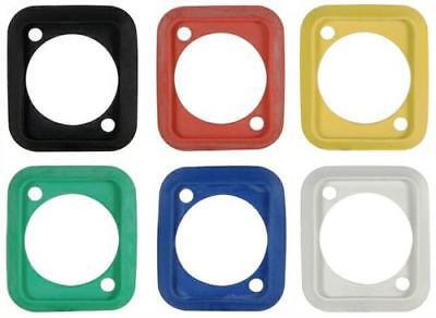 Radient Neutrik Scdp- 0,2,4,5,6,9 Rubber Sealing Gasket D-type Chassis Various Colours