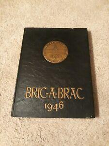 "1946 ""Bric-A-Brac"" - Princeton University Yearbook - Princeton, New Jersey"