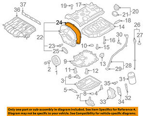 VW VOLKSWAGEN OEM 09-17 CC Engine Parts-Timing Cover ...
