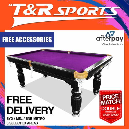 8ft purple slate pool table